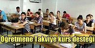 Takviye kurslarda görev alan öğretmene 400 TL zam