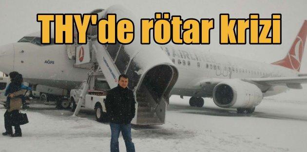 THY'nin kış rötarları yolcuları çileden çıkardı