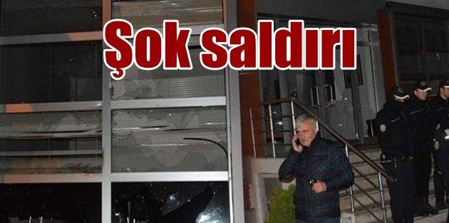 Trabzon'da TFF Bölge Müdürlüğü'ne şok saldırı