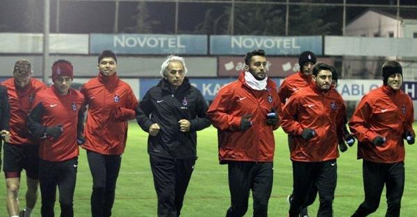 Trabzonspor, Torku Konyaspor Hazırlıklarını Sürdürdü