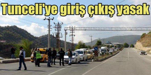 Tuncelide PKK mezarlığı gerginliği