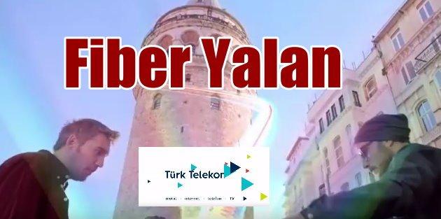 Türk Telekom Fiber internet yalanı vatandaşı kızdırdı