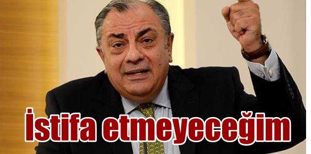 Türkeş: Hain değilim, istifa etmedim