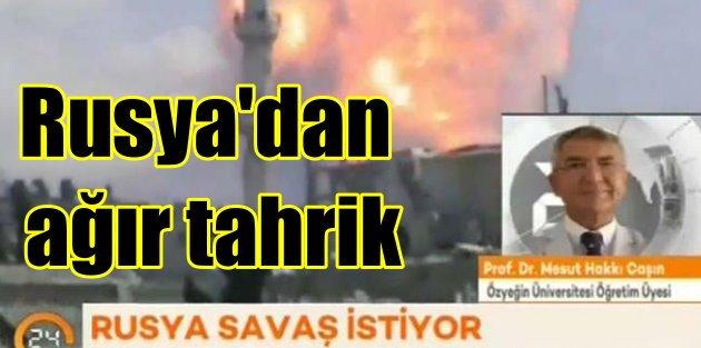 Türkiye Rusya krizinde nükleer savaş uyarısı