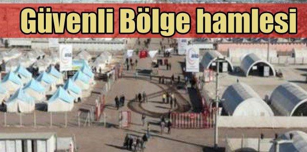 Türkiyeden tek taraflı güvenli bölge hazırlığı