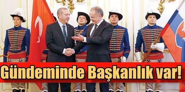 Türkiyenin gündeminde adliye baskını, Erdoğanın gündeminde Başkanlık