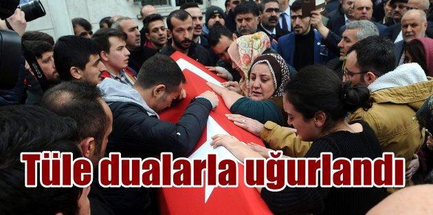 Türkmen Dağı şehidi Tüle dualarla uğurlandı