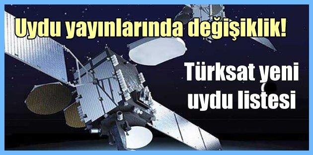 Turksat 4A yeni frekans listesi, Turksat yeni uydusunu devreye alıyor