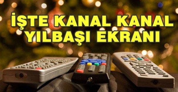 TV'de yılbaşına özel yayın akışı