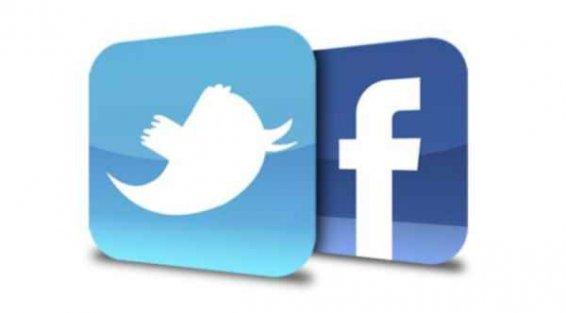 Twitter ve Facebook...