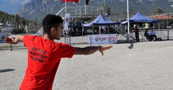 Uluslararası Bocce Turnuvası Tamamlandı