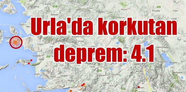 Urla'da deprem: Urla...