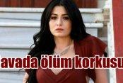 Oyuncu Deniz Çakır Ankara uçağında ölüm korkusu yaşadı