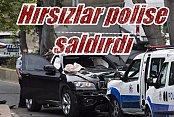 Beşiktaş'ta hırsızlar polise saldırdı: Korku dolu dakikalar
