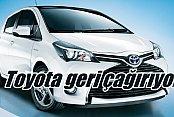 Toyota'dan şok karar, 1.4 milyon otomobili geri çağırdı