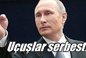 Putin Türkiye'ye yönelik charter yasağını kaldırdı