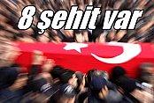 Üç ilde kalleş saldırı, 8 şehit var: Hakkari, Bingöl ve Mardin'den acı haber