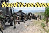 Ovacık'a sızmaya çalışan teröristler öldürüldü