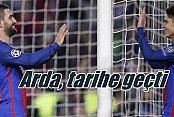 Barcelona'da Arda Turan resitali: 3 golle tarihe geçti