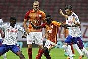 Galatasaray son dakikalarda çöktü
