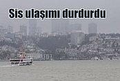 Sis İstanbul'da boğaz trafiğini kilitledi