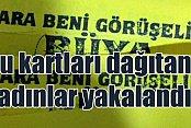 Konya'da fuhuş kartı dağıtan 3'ü kadın 4 kişi yakalandı