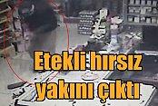 Etek giyerek, akrabasının marketini soymuş