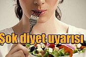 Uzmanından uyarı; Bahar telaşıyla şok diyetlere girmeyin
