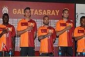 Galatasaray'ın yeni forması tanıtıldı