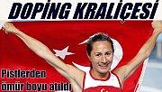 Milli Atlet Aslı Çakır, ömür boyu pistlerden atıldı