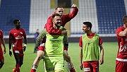 Antalyaspor'da ilk deplasman galibiyeti sevinci