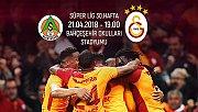 Galatasaray, Alanyaspor deplasmanında