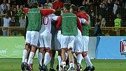 Cebelitarıklı futbolcular, ilk kez kazandıkları maçtan sonra ağladı