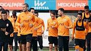 Galatasaray'da Schalke mesaisibaşladı