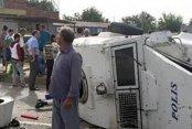 Son Dakika Diyarbakır; Zırhlı polis aracı kaza yaptı, 1 şehit 11 yaralı var