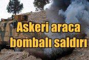 Diyarbakır Kocaköy'de askeri araca bombalı saldırı