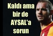 Wesley Sneijder son kararını verdi