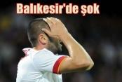 Galatasaray, Balıkesir önünde bayıldı