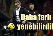 Yanal, 'Galatasaray'ı daha farklı yenebilirdik'