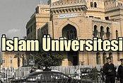 İstanbul'a İslam Üniversitesi kuruluyor