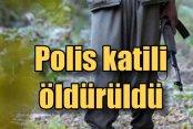Iğdır'da Şehit polisin intikamı alındı