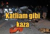 Tekirdağ Saray'da kaza: 4 ölü, 4 yaralı var