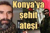Konya Cihanbeyli'ye şehit ateşi düştü