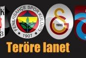 Ankara'da terör eylemine 4 büyüklerden sert tepki