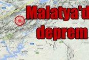 Malatya'da deprem: Malatya Pütürge 4.1 ile sallandı