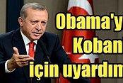 Erdoğan, Kobani'yi Obama'ya ben söyledim