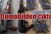 Mardin polisinin durdurduğu araçtan cephanelik çıktı