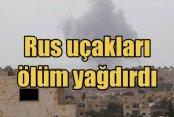 Moskova: Suriye'de 50 IŞİD hedefini vurduk