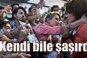 Lady Gaga İstanbul'da Kraliçe gibi karşılandı