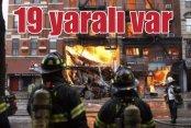 New York'ta doğal gaz patlaması faciaya döndü